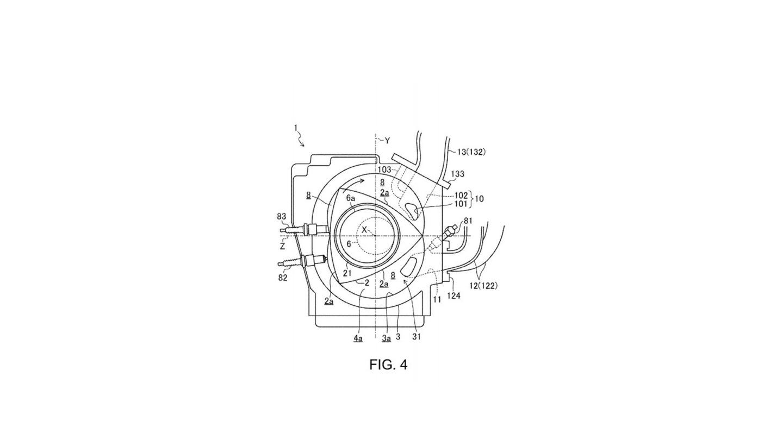 Mazda патентные изображения нового роторного двигателя