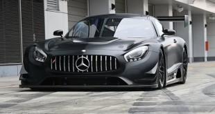 Mercedes-AMG GT3 черный