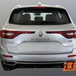 Renault Koleos 2016 шпионское фото