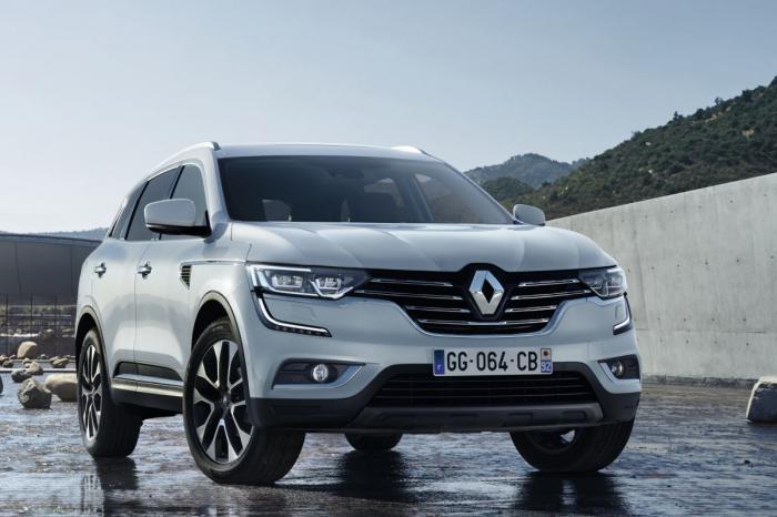 Замена Renault Koleos - официальное фото (утечка)