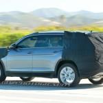 Volkswagen CrossBlue - шпионское фото серийной версии кроссовера