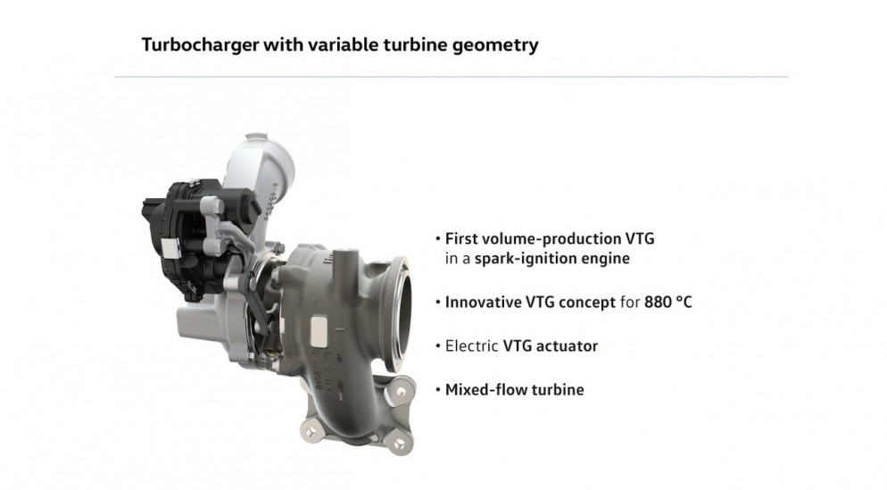 Volkswagen 1.5 TSI новый мотор с турбонаддувом с изменяемой геометрией турбины