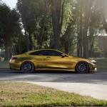 Золотой Mercedes-Benz S500 Coupe на тюнинг-колесах Zito Wheels
