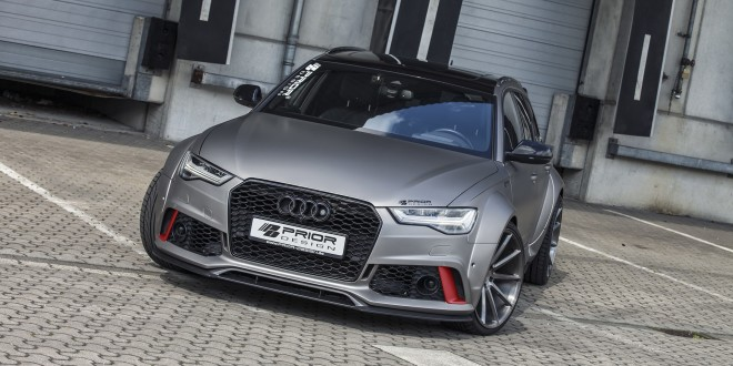 Audi A6/RS6 получил широкий обвес и тюнинг двигателя