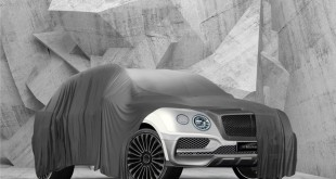 Bentley Bentayga тюнинг от Mansory