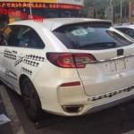 Honda Avanicier - фото серийной модели на испытаниях