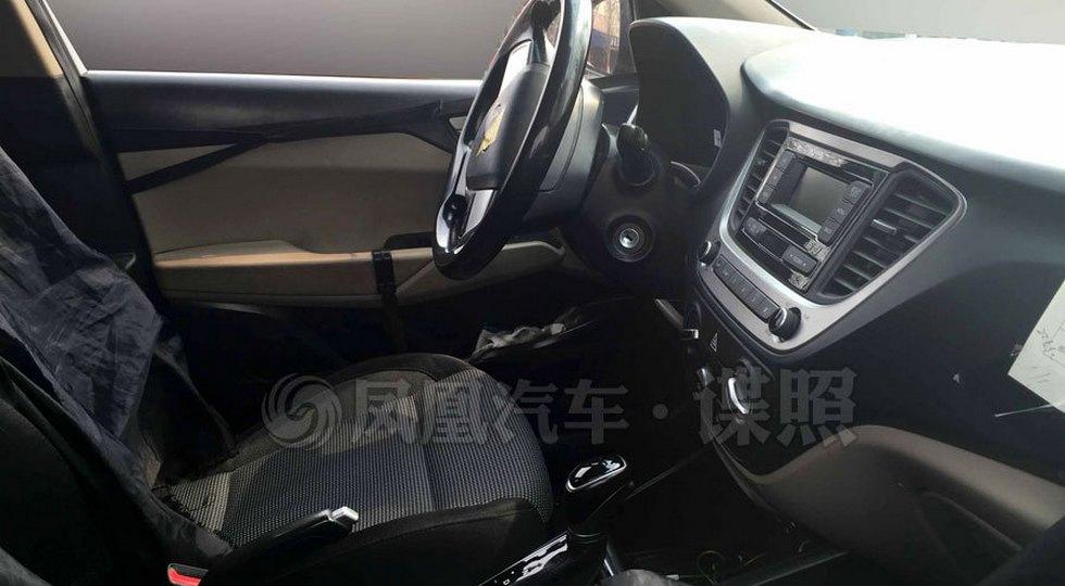 Hyundai Solaris/Verna шпионское фото