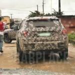 Jeep Compass/Patriot нового поколения шпионское фото