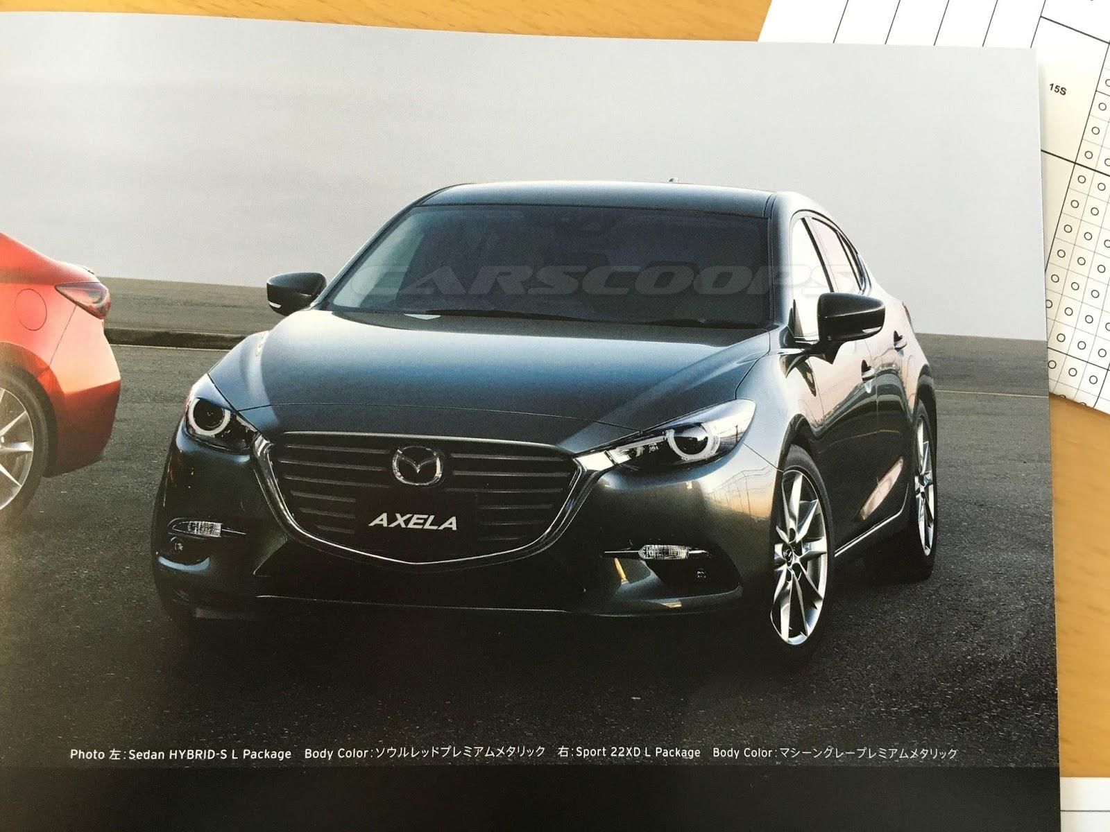 Mazda3 Axela фото обновленной модели