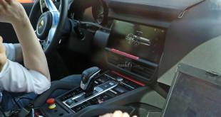 Porsche Cayenne 2018 интерьер шпионское фото