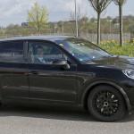Porsche Cayenne 2018 шпионское фото