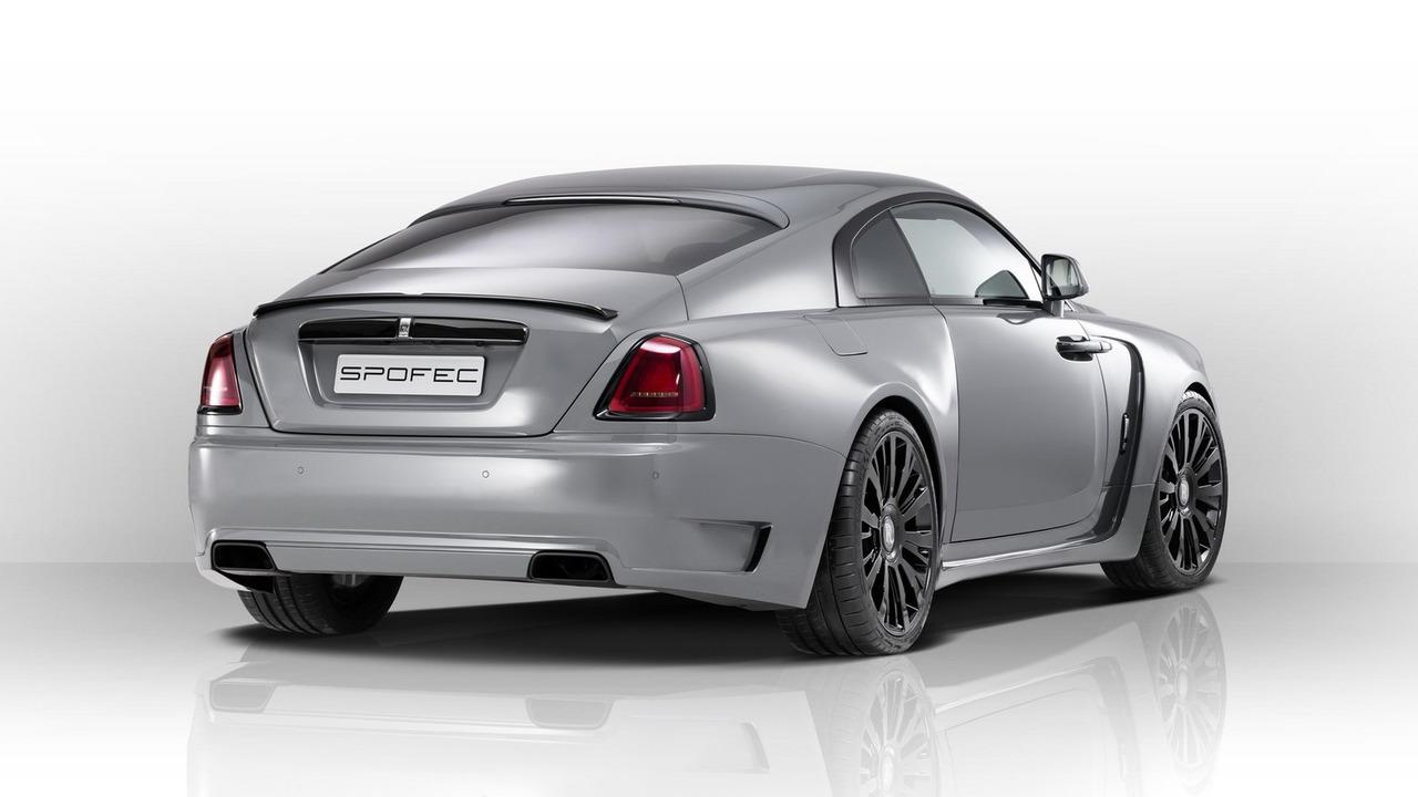 Rolls-Royce Wraith тюнинг от SPOFEC
