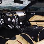 Shelby Mustang GT500 Super Snake тюнинг интерьера от Vilner