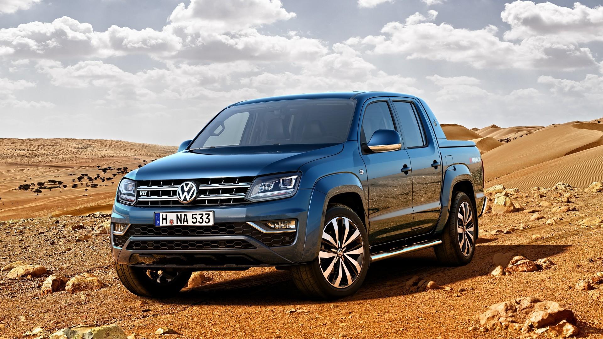 Volkswagen Amarok 2016 официальное фото