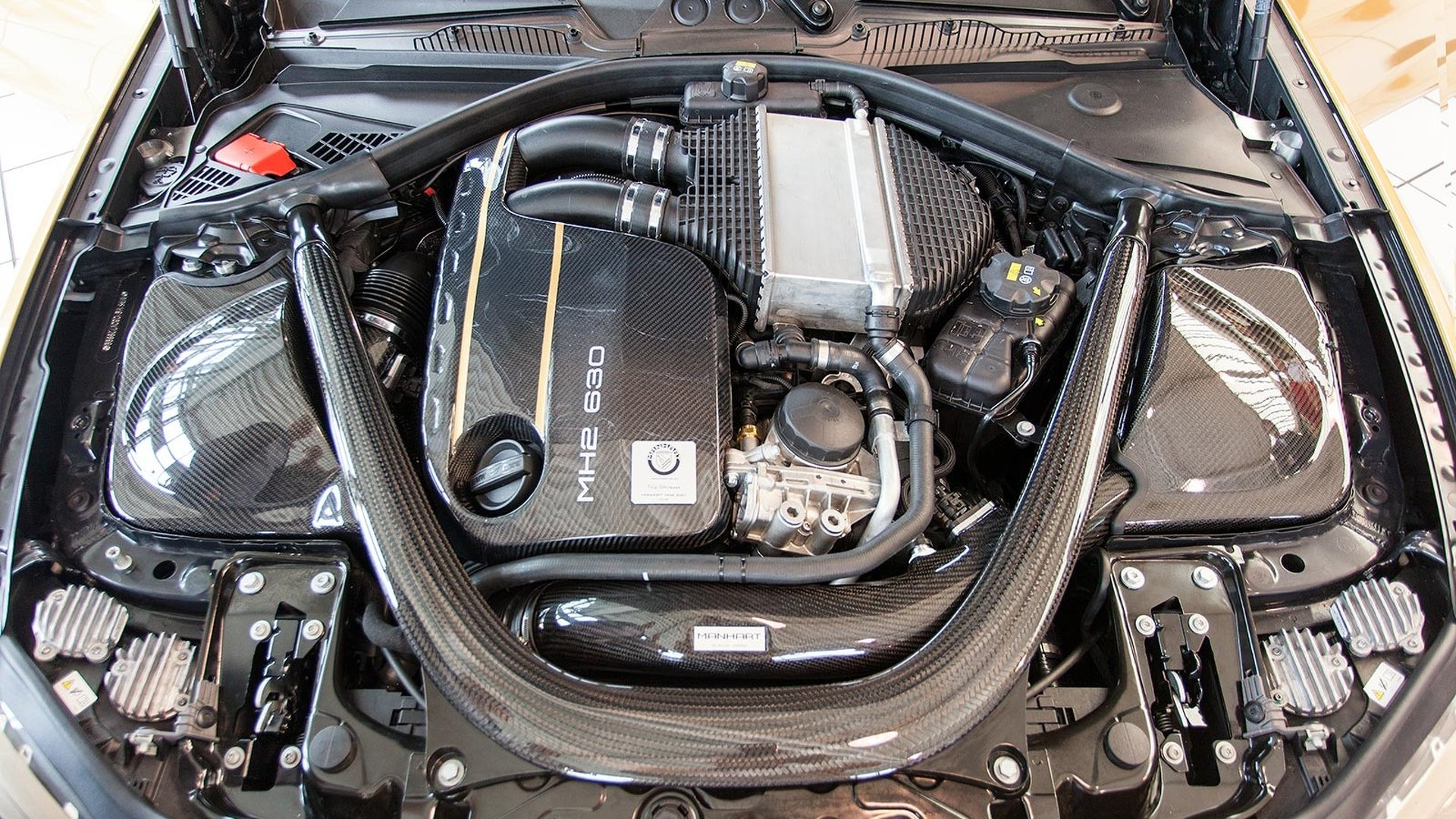 BMW M2 тюнинг Manhart MH2 630