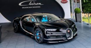 Bugatti Chiron на Фестивале скорости в Гудвуде