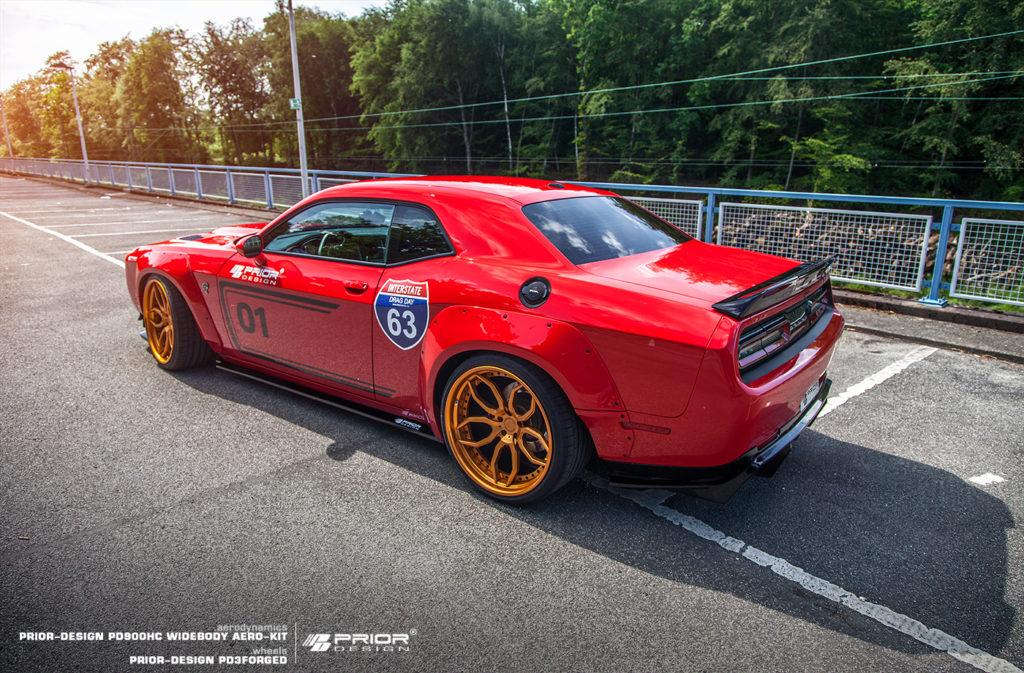 Dodge Challenger SRT Hellcat тюнинг от Prior Design