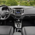 Hyundai Creta российская версия официальное фото интерьера