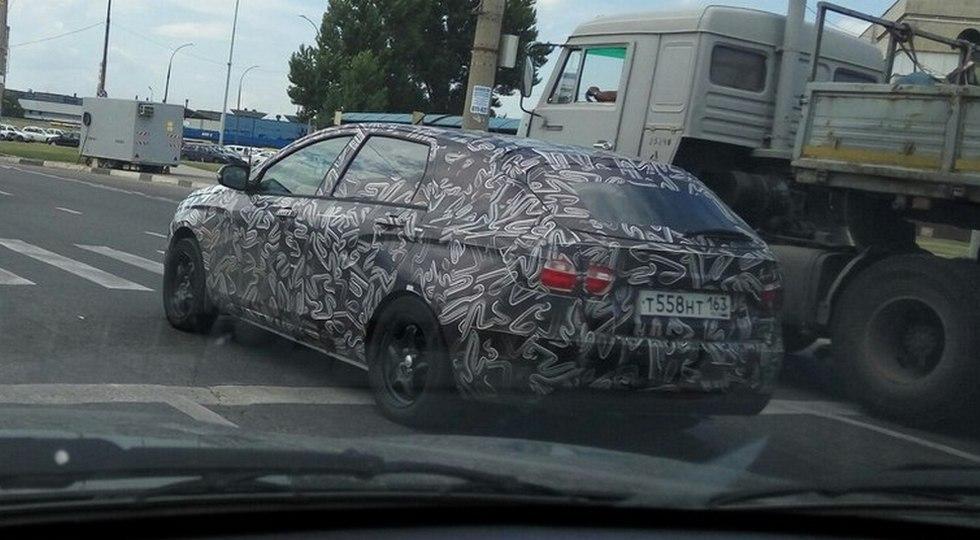Lada Vesta универсал шпионское фото