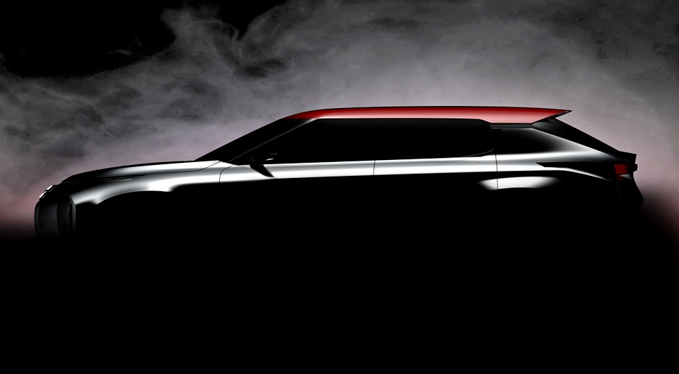 Mitsubishi Ground Tourer Concept тизер