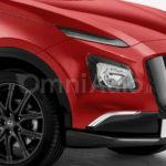 Nissan Juke 2017 неофициальный рендер