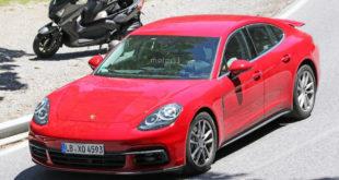 Porsche Panamera 2017 шпионское фото
