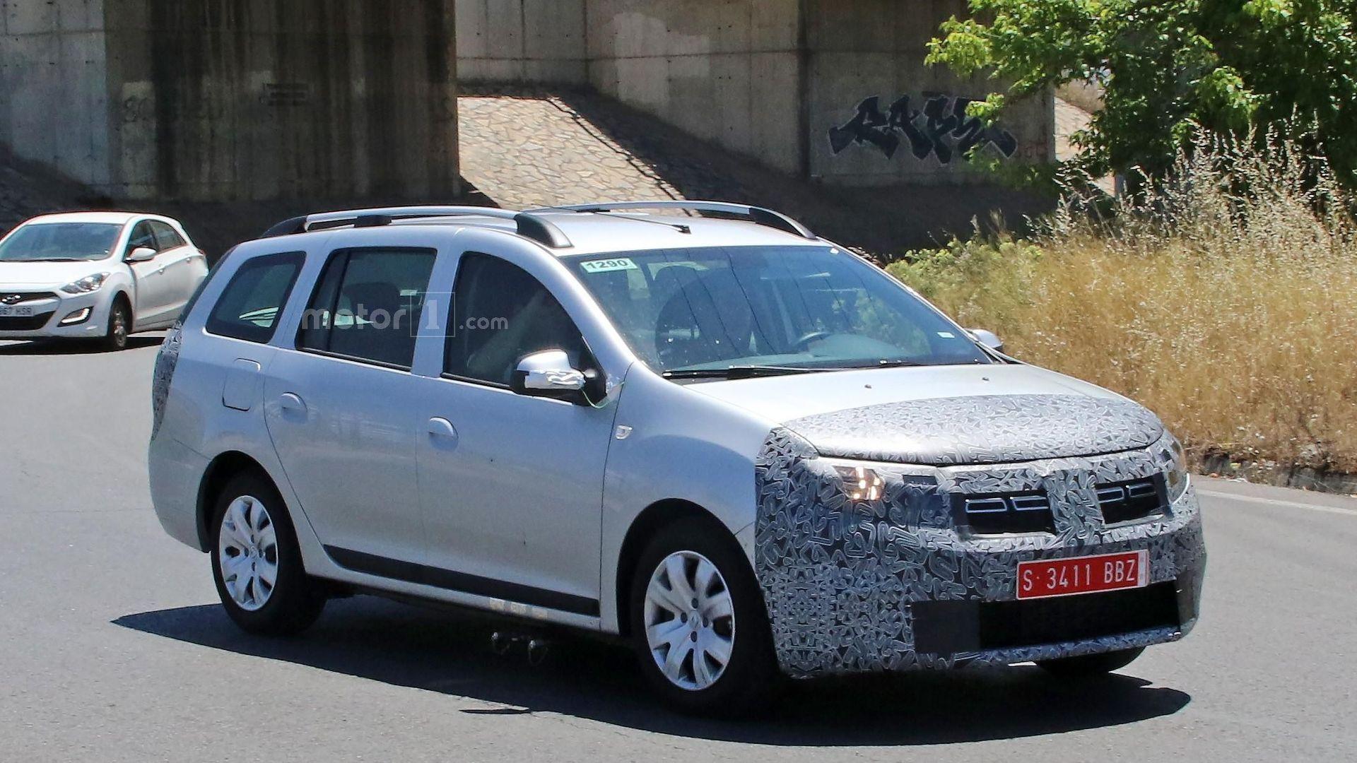 Renault Logan MCV 2017 шпионское фото