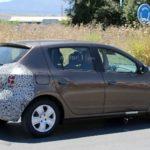 Renault Sandero 2017 шпионское фото