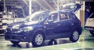 Suzuki SX4 обновленная модель на шпионском фото