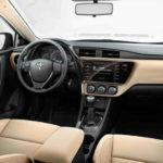 Toyota Corolla интерьер