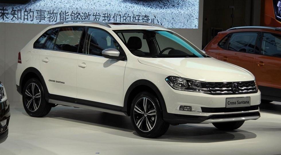 Volkswagen Cross Santana