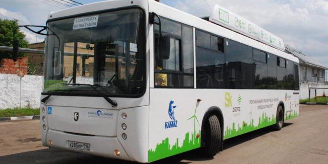 Прошел испытания электрический автобус КАМАЗ-6282 второго поколения