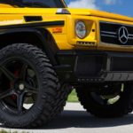 Mercedes G63 AMG на тюнинг колесах HRE Wheels