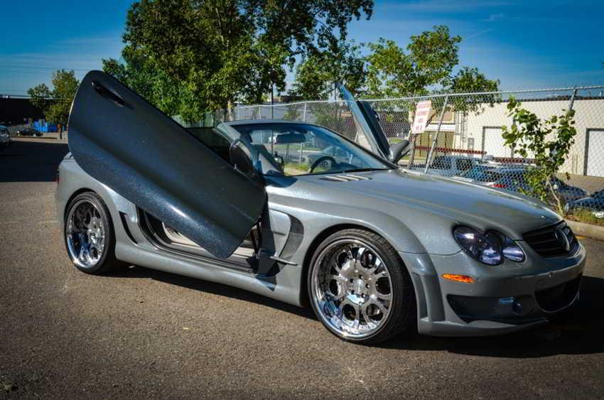 Mercedes-SL55 AMG тюнинг от ZR Auto - обвес/колеса/сидения FAB Design