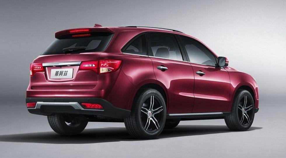 Brilliance Jinbei Die Zi - китайский клон Acura MDX