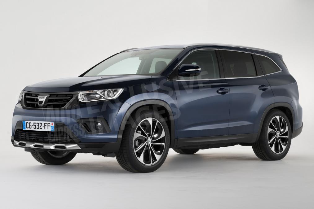 Renault Duster 2018 7-местный
