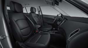 Hyundai Creta фото интерьера - передние сидения сбоку пассажира