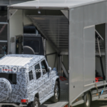Mercedes G-Class 2017 шпионское фото