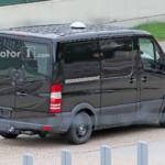 Mercedes-Benz Sprinter следующего поколения тестовый мул