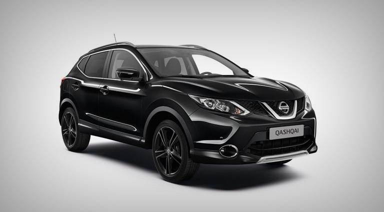 Nissan Qashqai Black Edition спереди