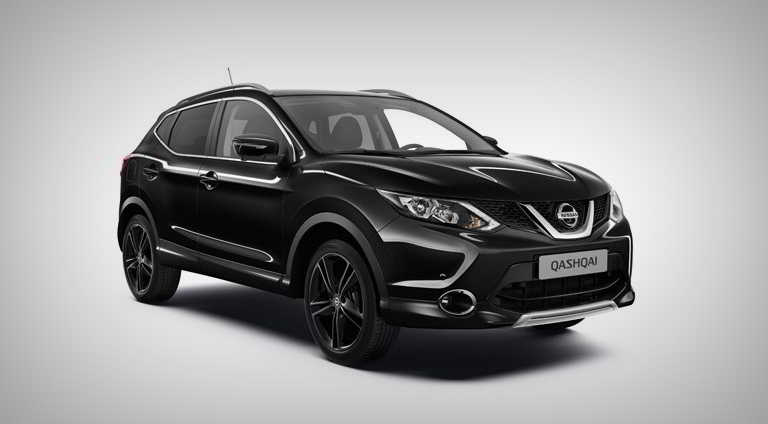 Nissan Qashqai Black Edition сзади
