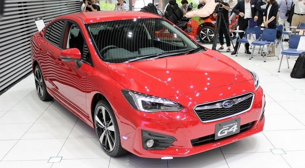 Subaru Impreza 2016 (седан)