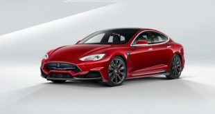 Tesla Model S Voltes Design