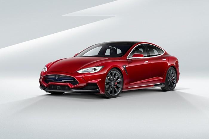 Tesla Model S Voltes Design