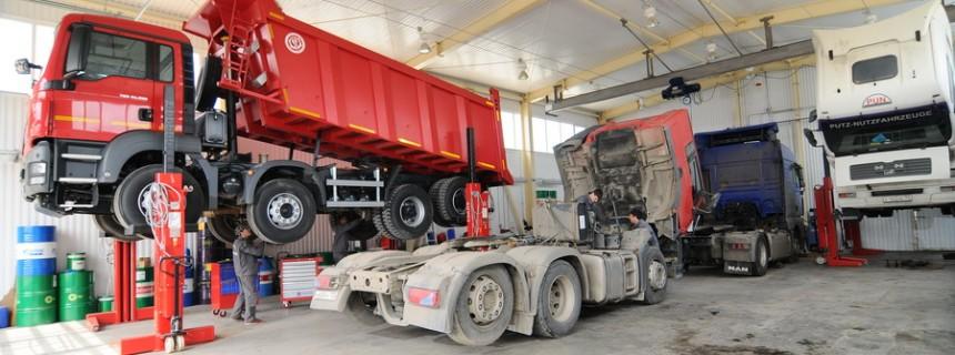 Ремонт двигателей грузовых автомобилей