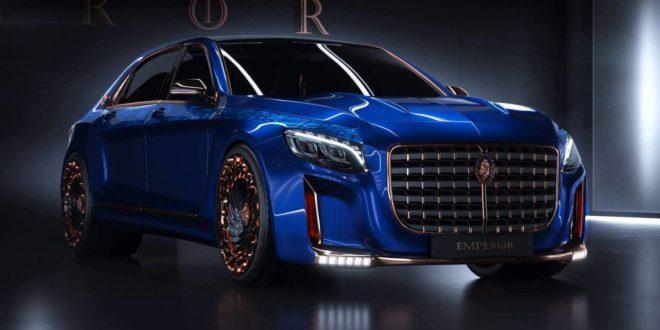 Scaldarsi переделали Mercedes-Maybach в «Императора»