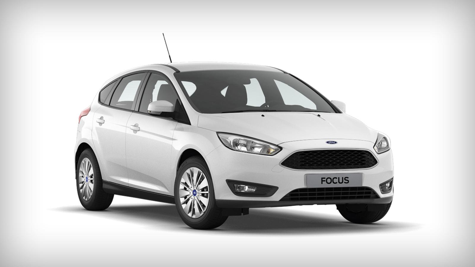 Ford Focus хэтчбек Frozen White