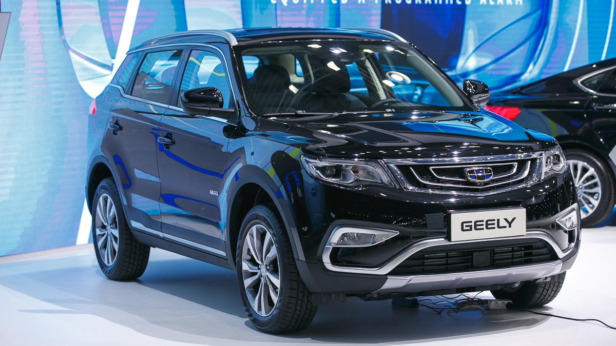 Geely ММАС