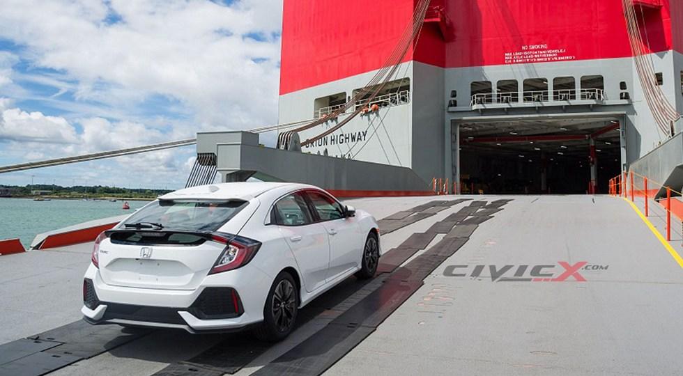 Honda Civic хэтчбек нового поколения