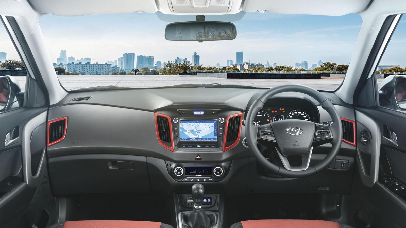 Hyundai Creta Anniversary Edition интерьер